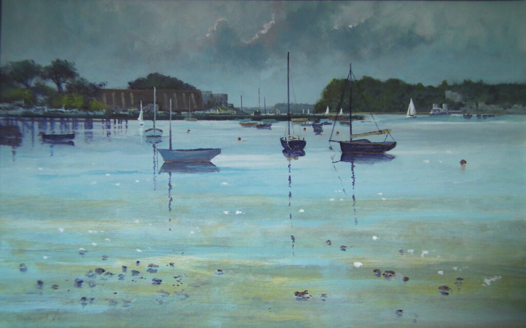 Evening Ebb Tide, Poole