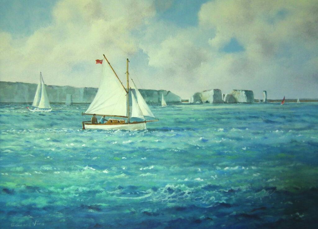 Under Sail to Handfast Point