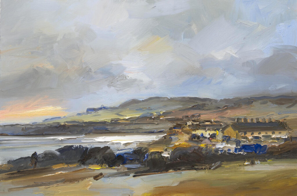 Evening Light Kimmeridge Bay