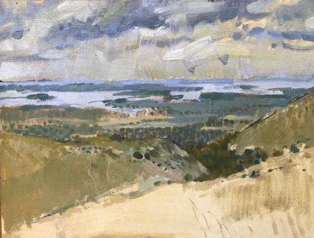 Pale Purbeck Hills