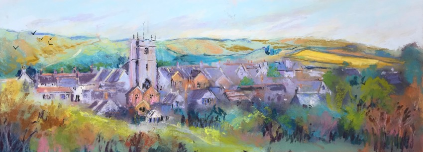 Corfe Castle and St. Edwards
