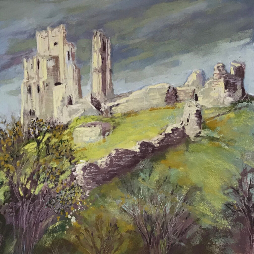 Clouds Gathering over Corfe