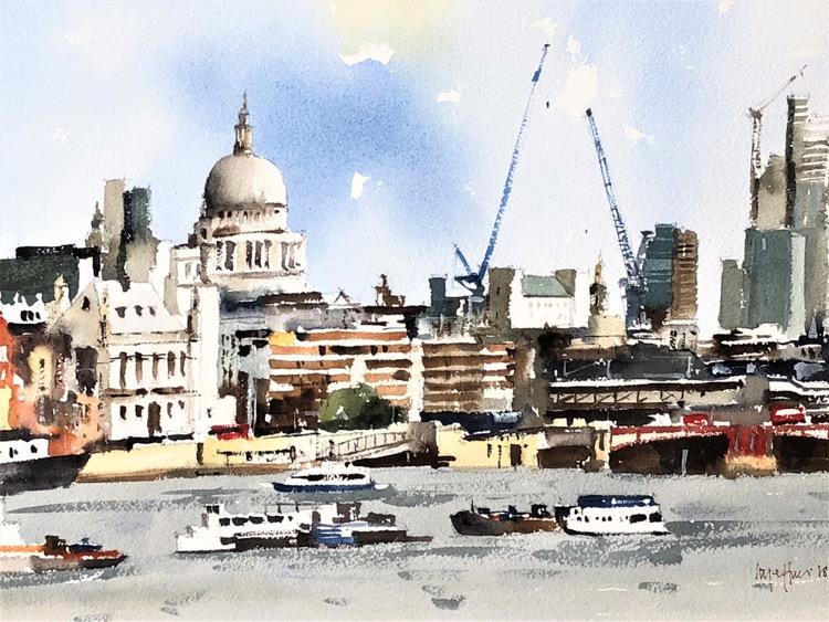 Thames at Blackfriars