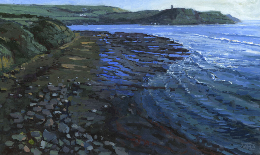 RA Kimmeridge Tide Retreating