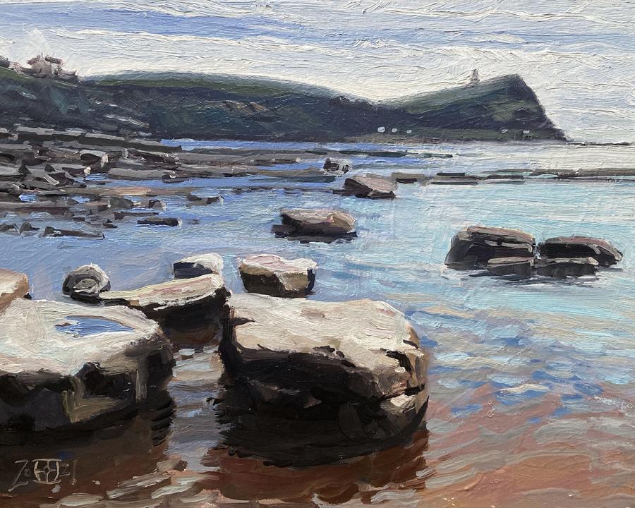 Rock Reflections, Kimmeridge