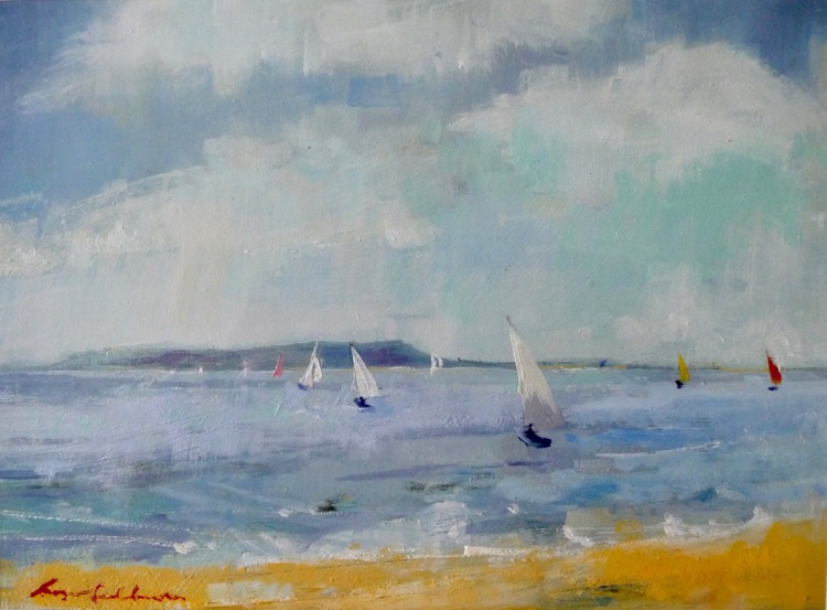 Dinghy Sailing Ringstead Bay