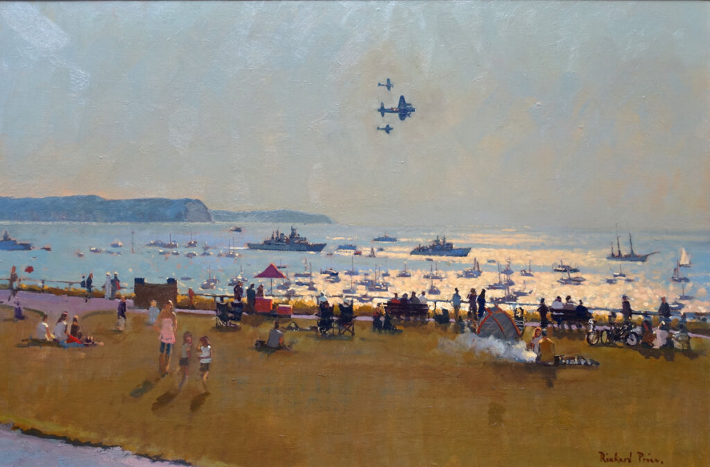 The Fly Past with Flotilla 2012  (Bournemouth Airshow)