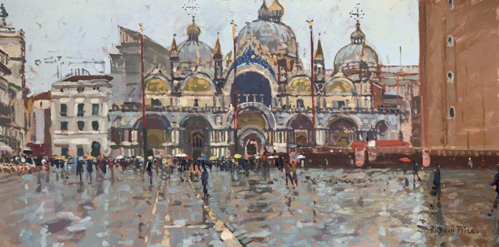 Umbrellas in St. Mark's Square