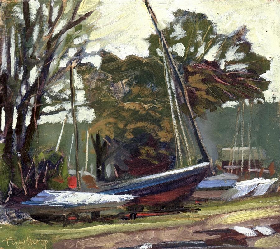 Boatyard at Knoll Beach