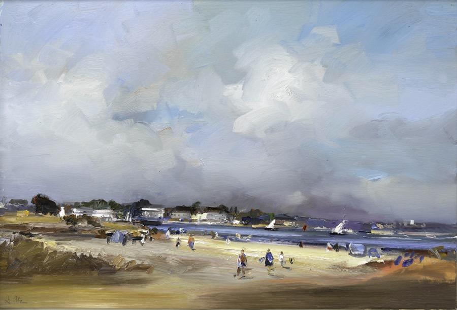 Summers Day on Studland Beach.