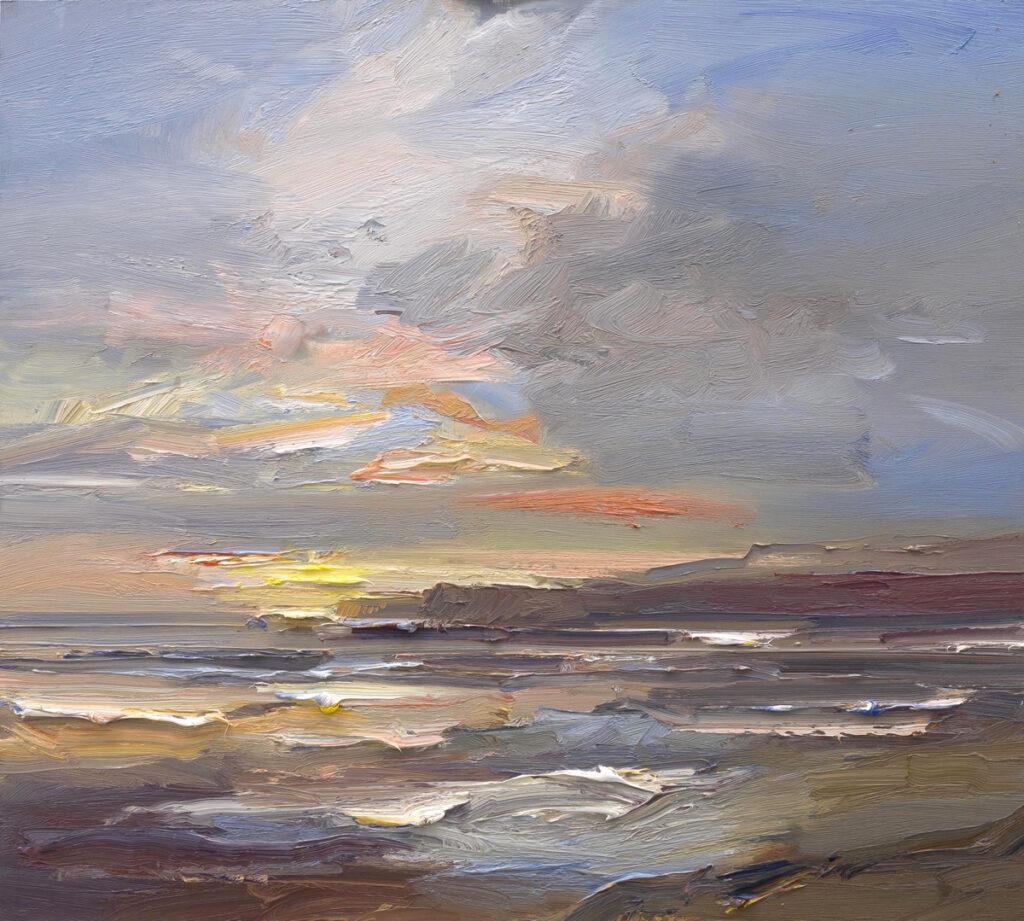 Sunset Kimmeridge Bay
