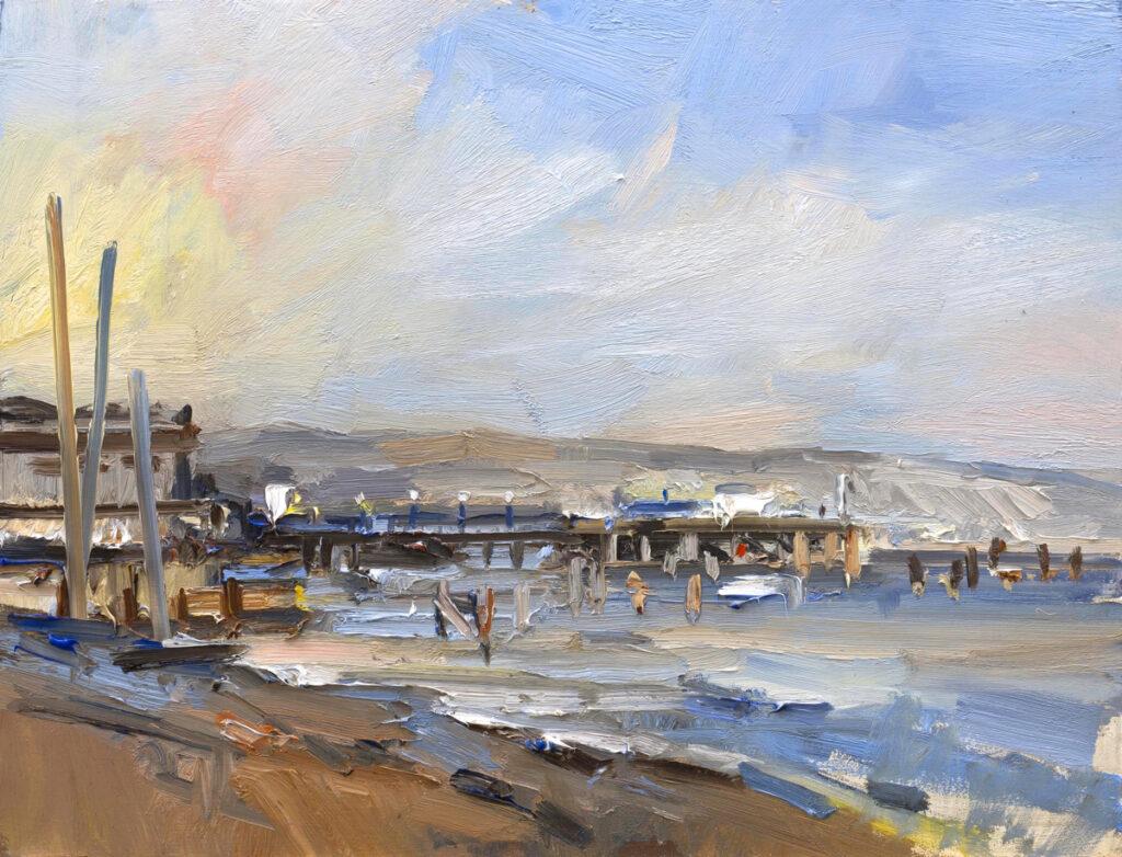 Autumn on Swanage Pier