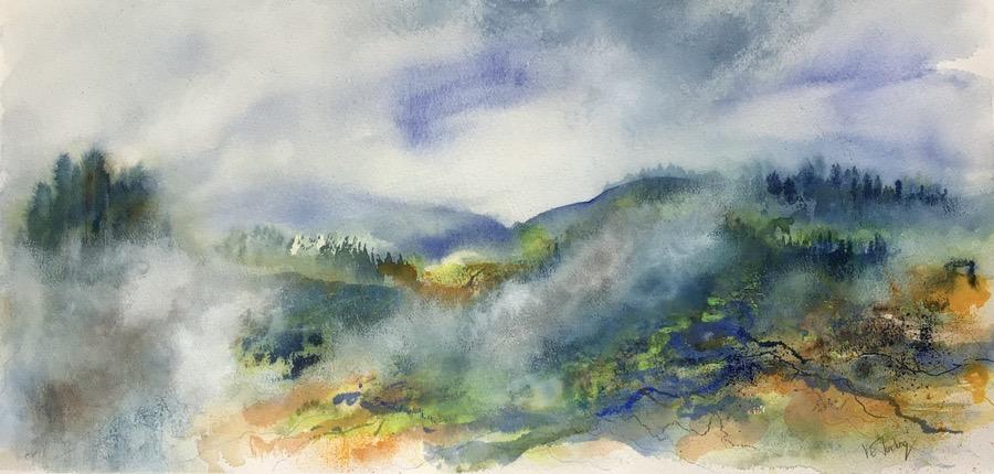 Veiled in Morning Mist